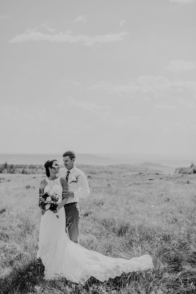bride and groom looking into eyes cypress hills