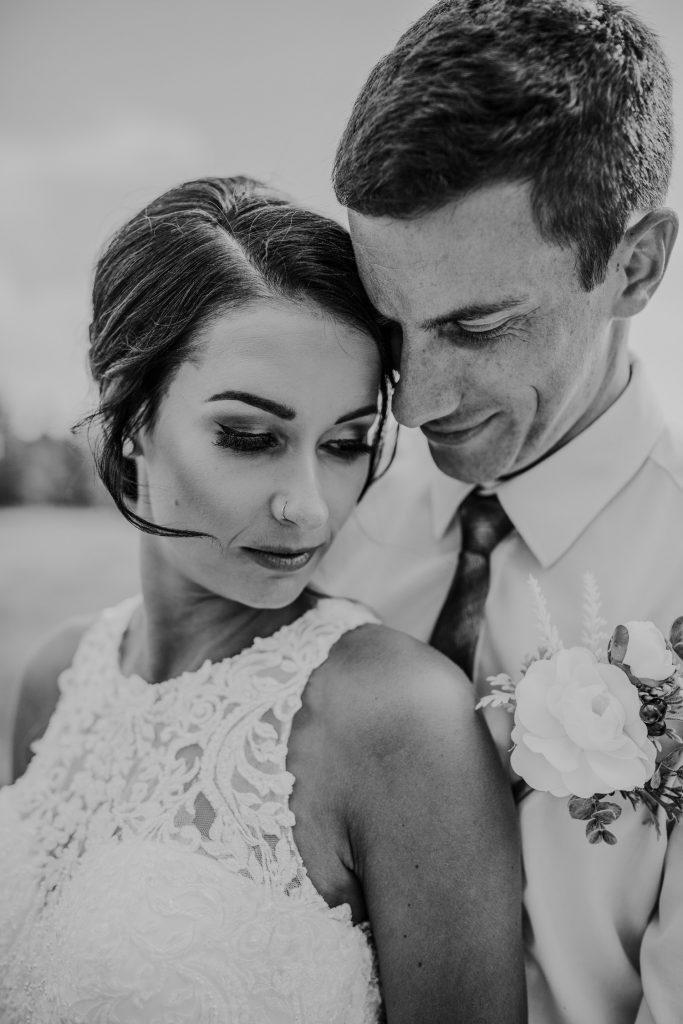 close-up bride and groom cypress hills wedding photo